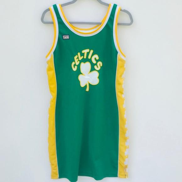 Hardwood Classics Dresses Retrovintage Boston Celtics Jersey Dress Xl Poshmark